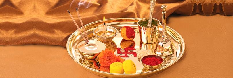 Diwali thali diwali pooja thali dipawali pooja thali for Aarti thali decoration ideas