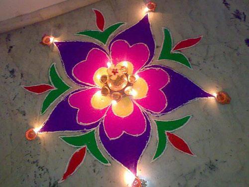 Diwali Rangoli Rangoli For Diwali Diwalifestival