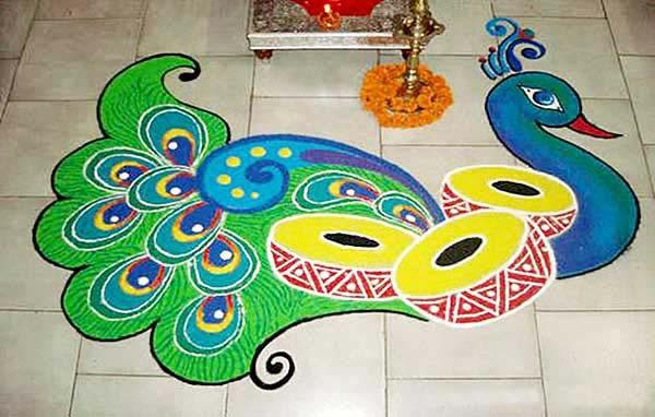 Diwali Rangoli Diwali Rangoli Design Rangoli Designs ...