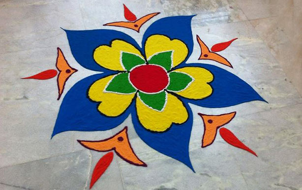 Easy Rangoli Design