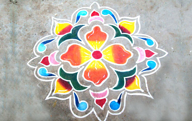 Easy Rangoli Design For Diwali Simple Rangoli Designs For Diwali 2018