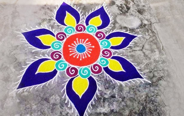 ... Rangoli Design for Diwali - Simple Rangoli Designs for Diwali 2016